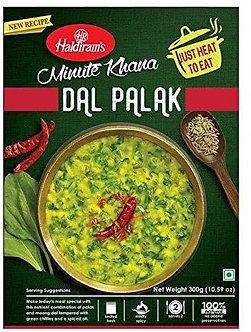 Minute Khana - Dal Palak  HALDIRAM'S   300g