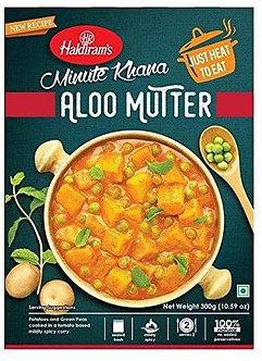 Minute Khana - Aloo Mutter HALDIRAM'S   300g