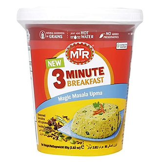 3-Min Breakfast Magic Masala Upma MTR   80g