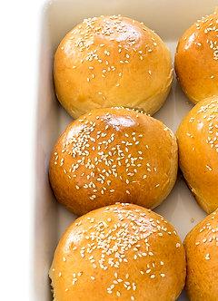 Burger Buns (Eggless) (1pcs)