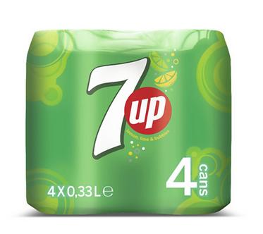 7-up x4  330mlx4