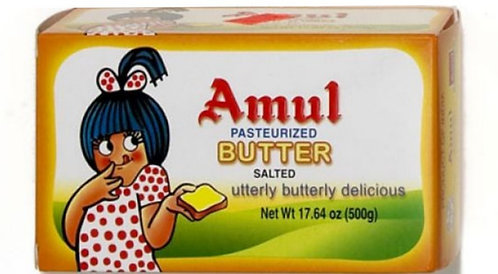 Salted Pasteurised Butter AMUL   500g