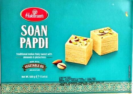 Soan Papdi with Vegetable Oil HALDIRAM'S   500g
