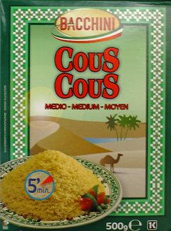 Italy Bacchini Couscous, Middle Grain BACCHINI   500g