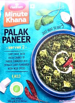 Minute Khana - Palak Paneer HALDIRAM'S   300g