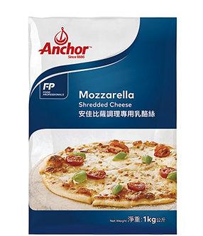 Anchor Shredded Natural Mozzarella  ANCHOR    1kg