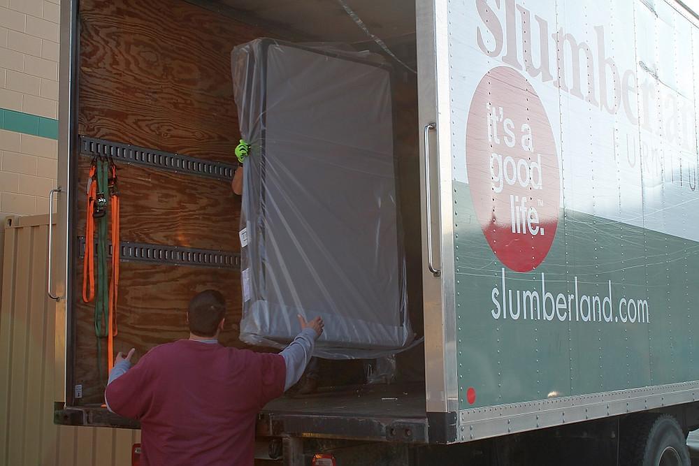Slumberland 2017 Bed Donation