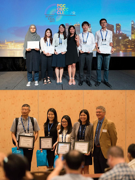 Best Student Paper and Poster Awards