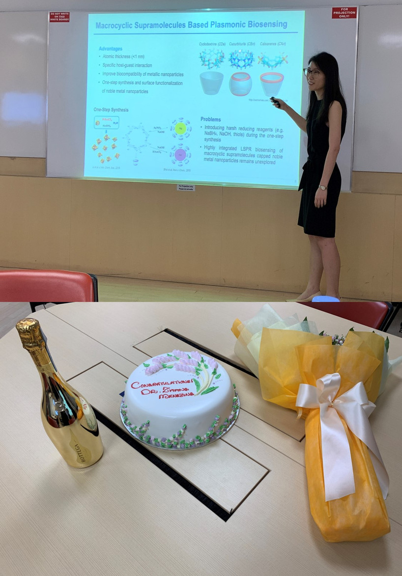 Mengying ZHANG Defended Her Ph.D. Thesis, Congrats, Dr. ZHANG!