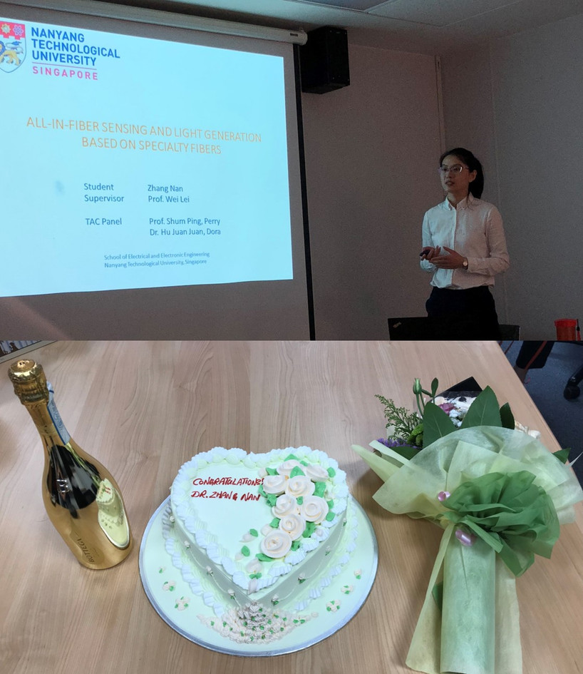 Nan ZHANG Defended Her Ph.D. Thesis, Congrats, Dr. ZHANG!