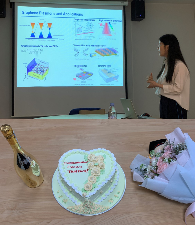 Tingting WU Defended Her Ph.D. Thesis, Congrats, Dr. WU!