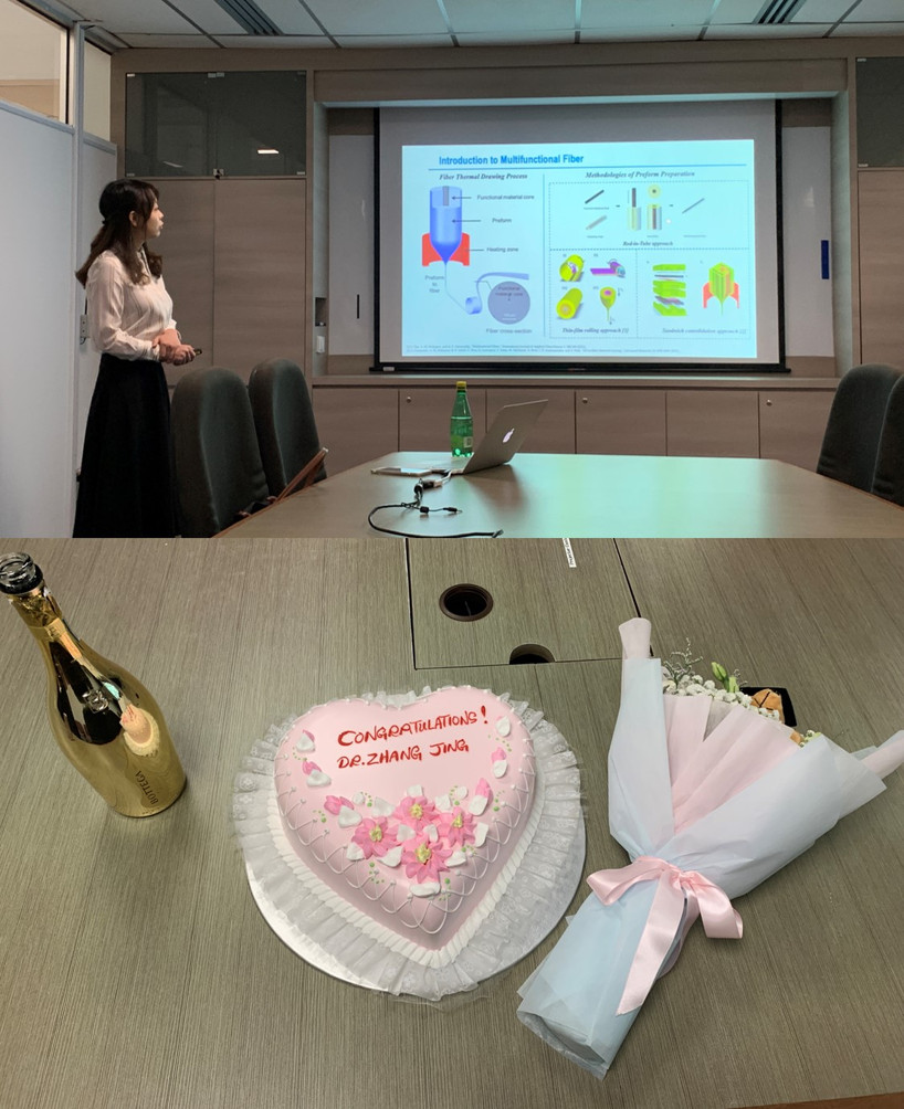 Jing ZHANG Defended Her Ph.D. Thesis, Congrats, Dr. ZHANG!