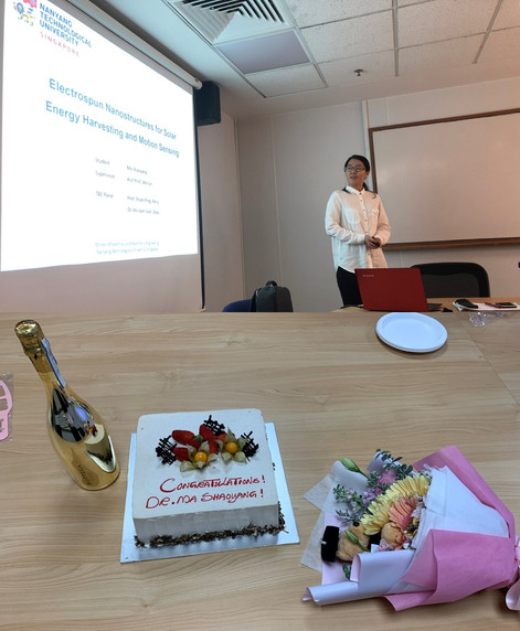 Shaoyang MA Defended Her Ph.D. Thesis, Congrats, Dr. MA!