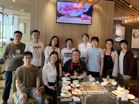 Farewell Party for Dr. Jing ZHANG and Dr. Yunxia JIN