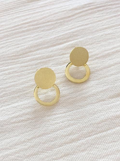 Gold Meg Earrings