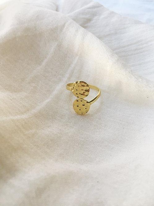 Gold Goddess Ring