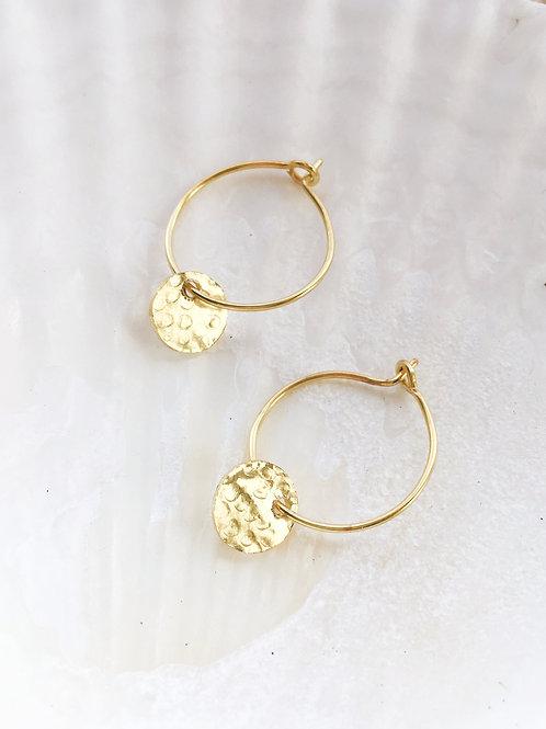 Gold Marina Hoops
