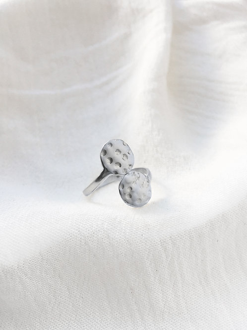 Silver Goddess Ring