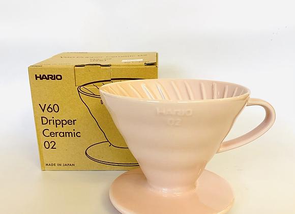 Hario V60 Pink Ceramic Dripper