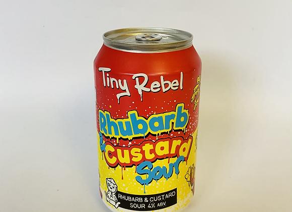 Tiny Rebel Rhubarb and Custard Sour