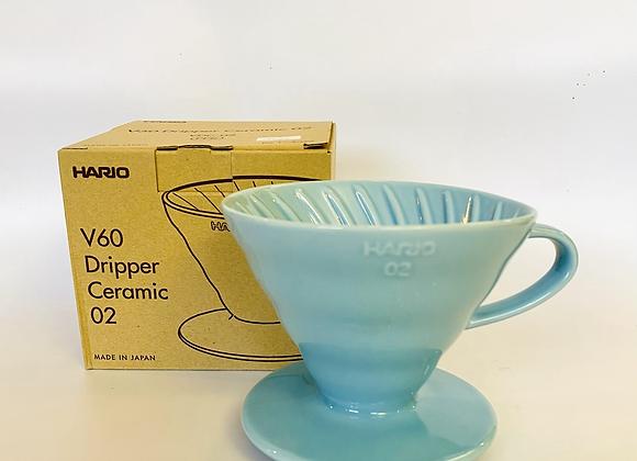 Hario V60 Blue Ceramic Dripper