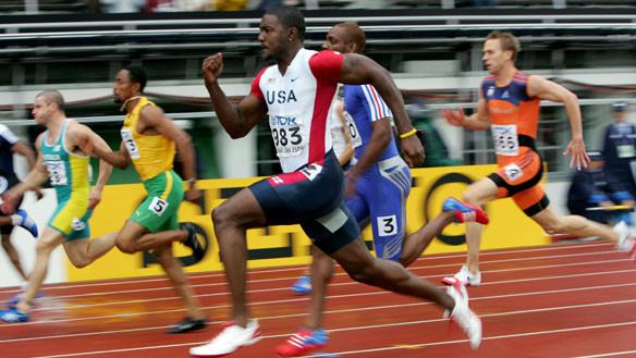 Erunning sprinting