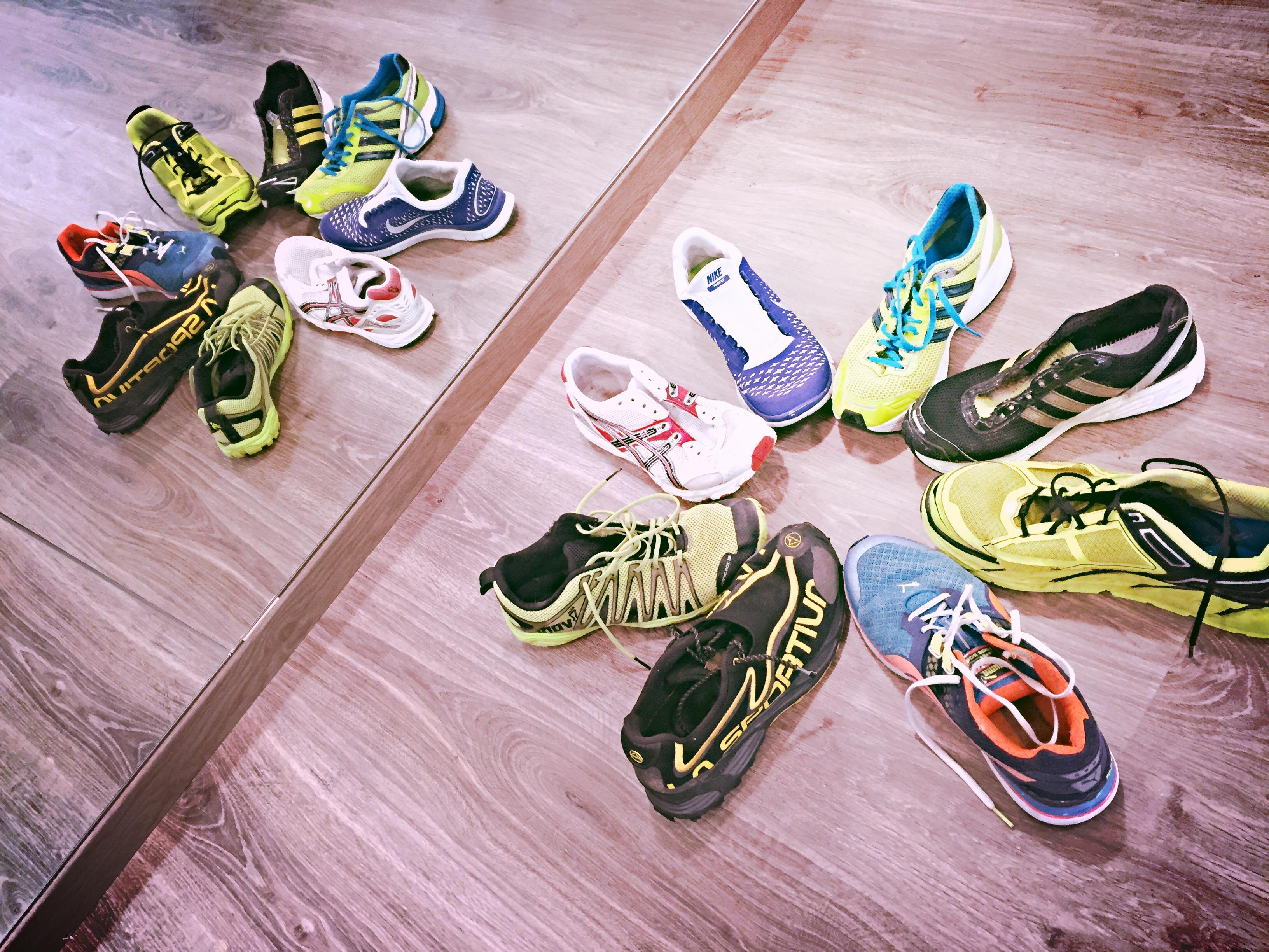 Erunning Workshop: le scarpe