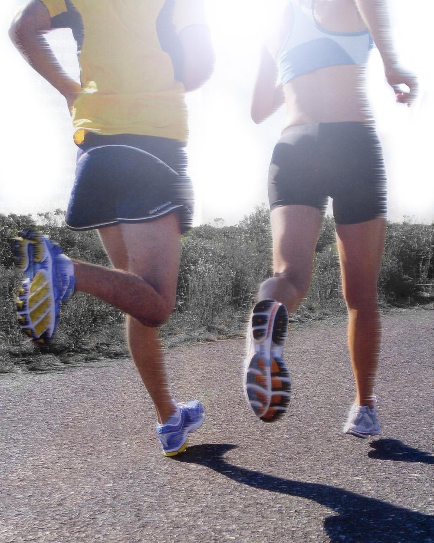 Appoggio piede running