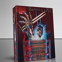 Monsters in a box drumkit