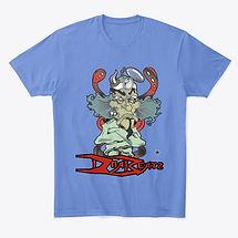 dna beatz blue dr logo shirt