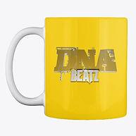 yeloow coffe mug dna beatz