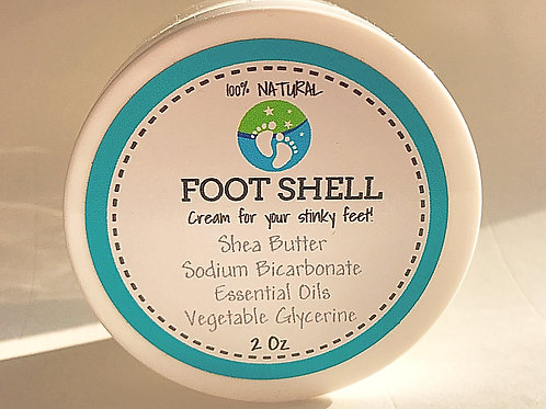 FootShell Cream for Stinky Feet 2oz