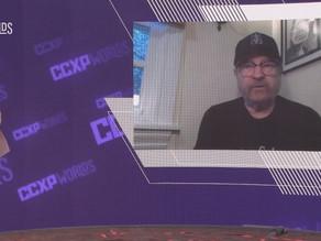 Bobby Singer sendo um tiozão fofinho na CCXP Worlds