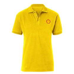 Polo Shirt with Logo Print
