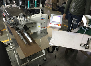 On the way to sewing automation