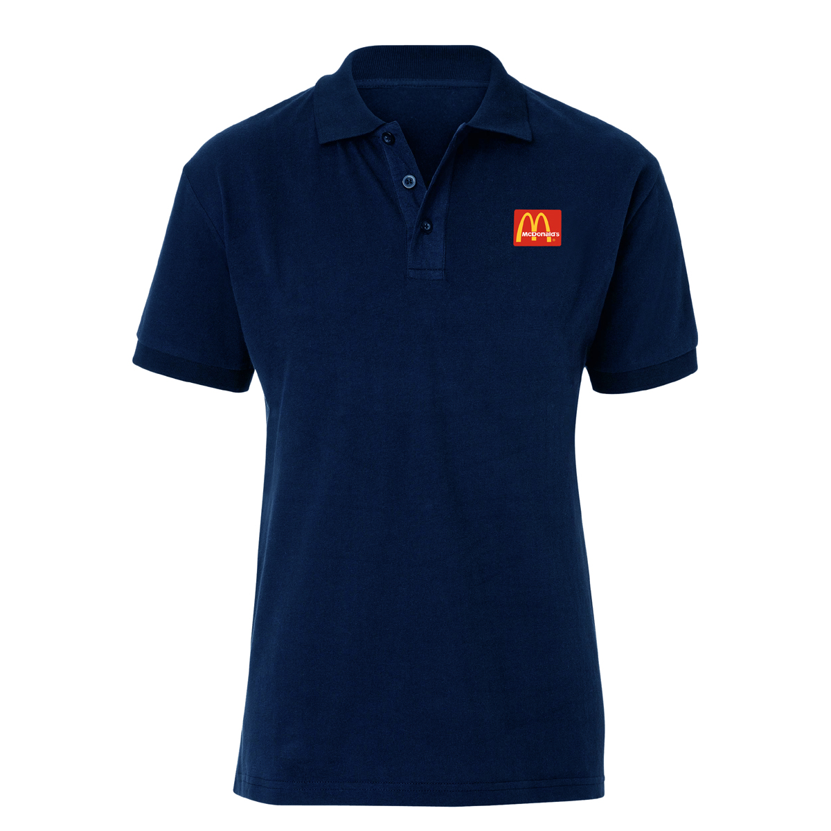 Polo Shirt with Logo Embroidery