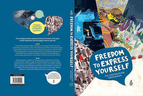 FREEDOM TO EXPRESS YOURSELF COVER NEW -