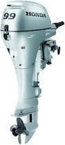 Installed Tiller Honda 9.9 HP Outboard