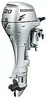 Installed Remote Honda 20HP Outboard