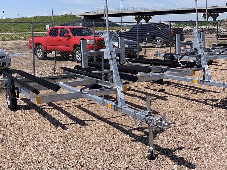 Installed Laker Galvanized Trailers