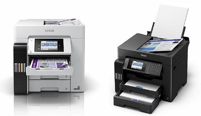 Epson推出首創「四色防水」連供複合機