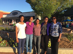 Dinner with Principal Yvonne Sybal