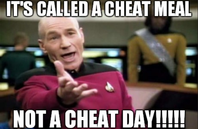 cheat meal not cheat day