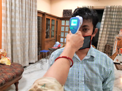 Reading temperature from IR Scanner