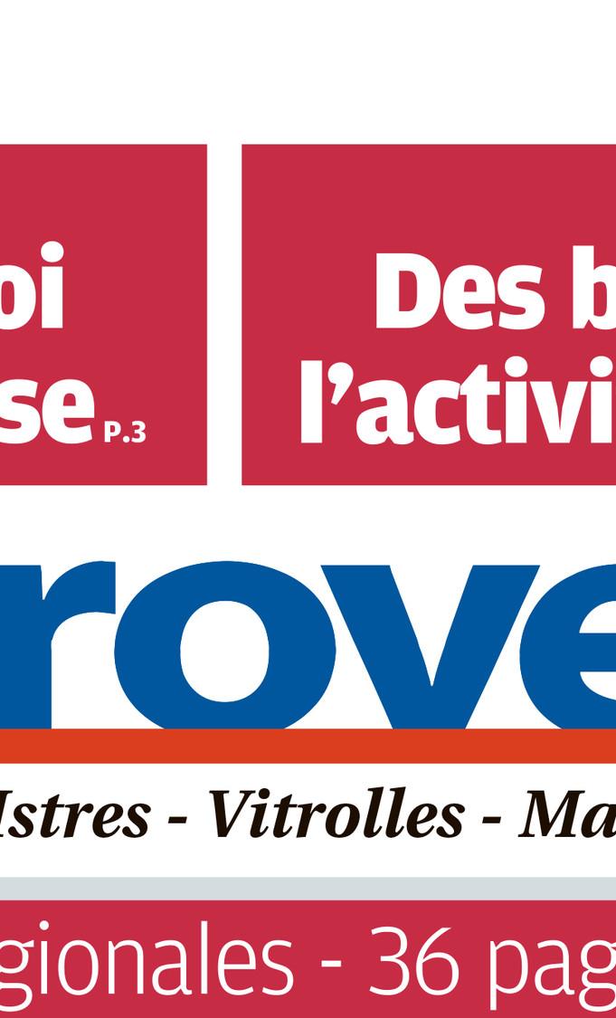 En-tête du journal La Provence Vitrolles-Marignane