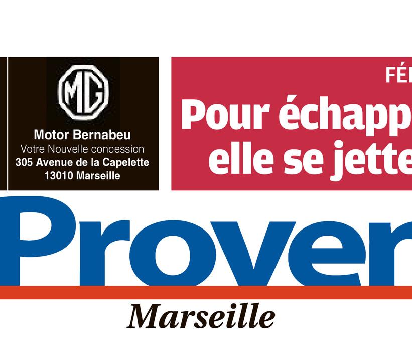 En-tête journal La Provence Marseille