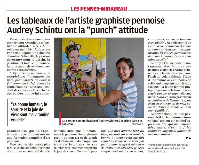 Article du journal La Provence Aix