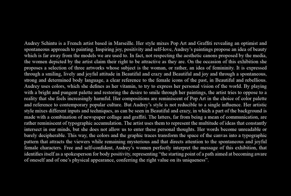 CRITIQUE ARTISTIQUE M.A.D.S Milano