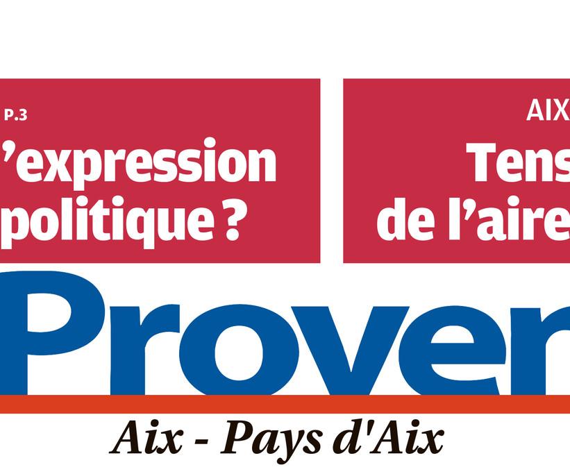 En-tête du journal La Provence Aix