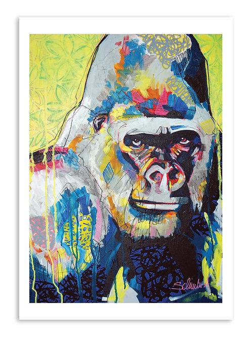 """Poster """"Monkey Graph"""""""
